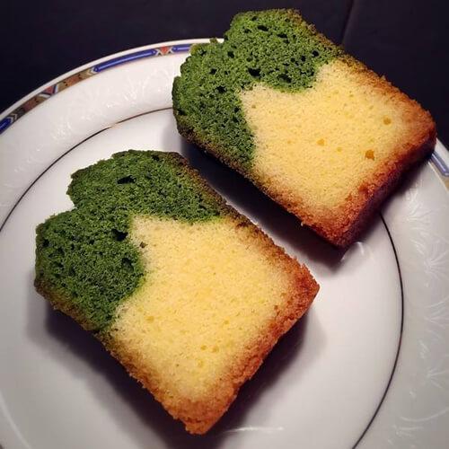 抹茶香草磅蛋糕