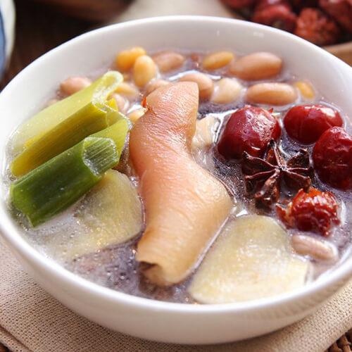 红枣枸杞猪脚汤