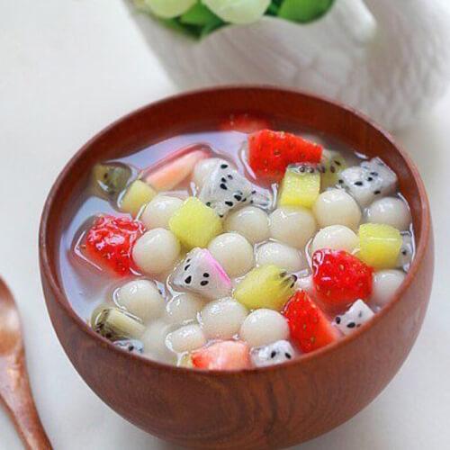 正月十五—水果什锦小汤圆