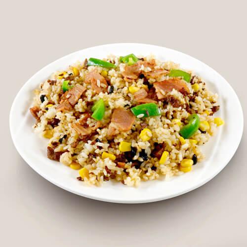 培根尖椒炒饭
