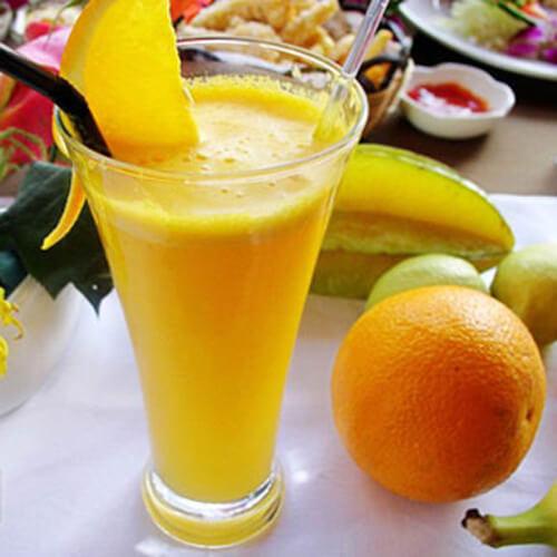苹果百香果橙汁