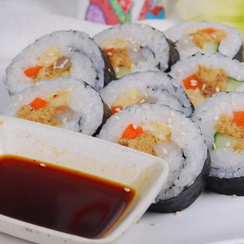 三丁肉松寿司
