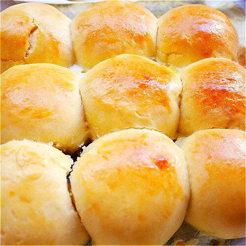 DIY雪球小面包