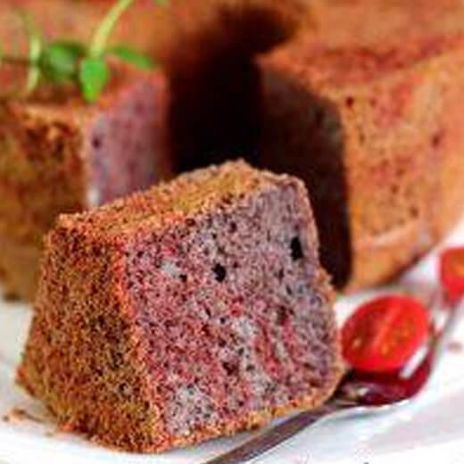 黑芝麻双色蛋糕
