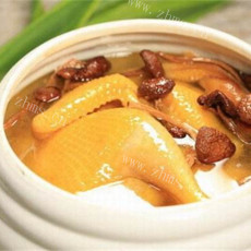 清凉滋补药材炖老鸭汤