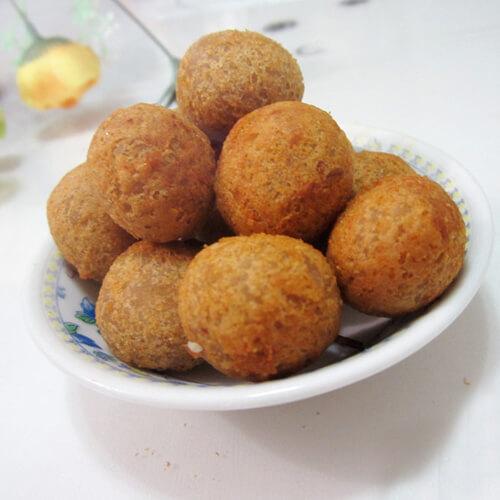 酥香芋泥丸