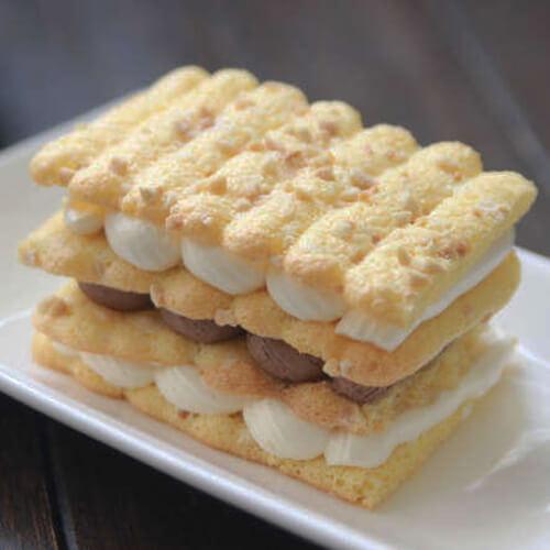 蛋白夹心饼