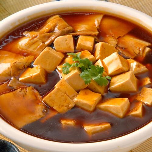 家常版雪里红炖豆腐