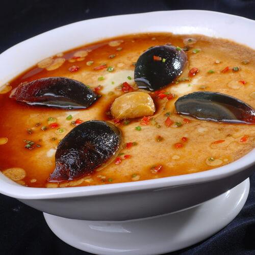 美味营养的蒸肉末汤