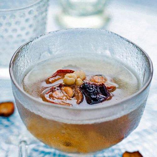 荷叶山楂薏米减肥茶