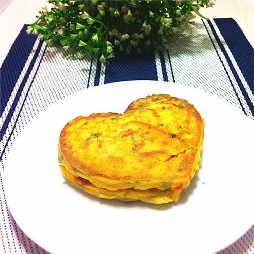角瓜胡萝卜饼