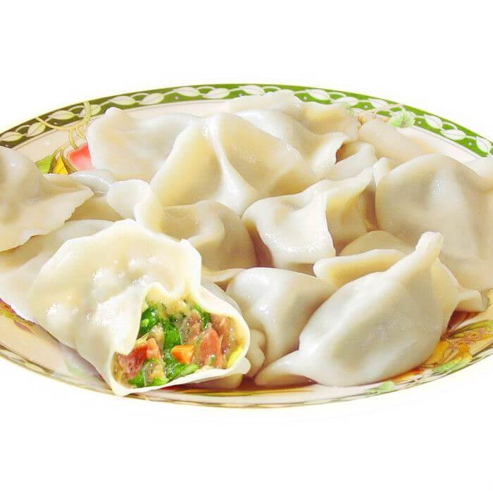 芋头玉米饺子