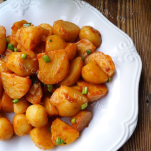 美味韩式酱土豆