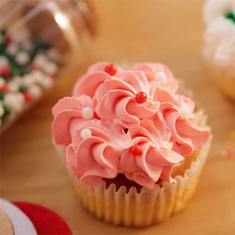 彩糖奶油小蛋糕