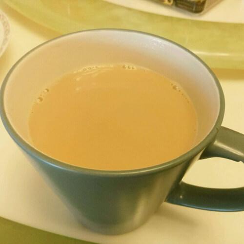 简单的自制奶茶