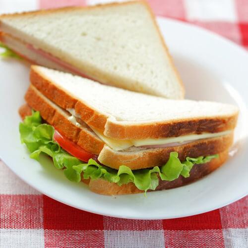 简单快手早餐三明治