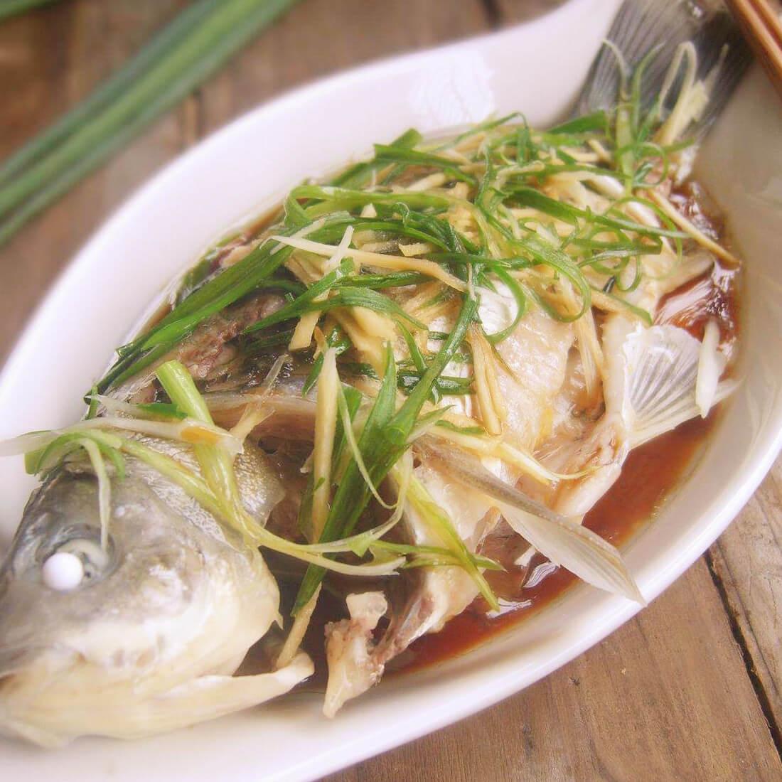 清蒸西江鲫鱼