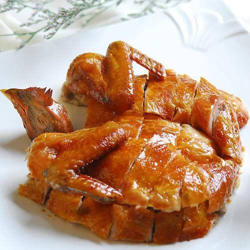 美味的烧鸡
