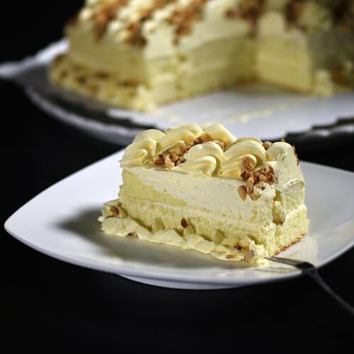 可口的咸蛋糕