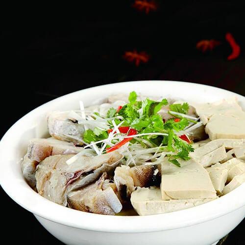 好吃的鳕鱼炖豆腐