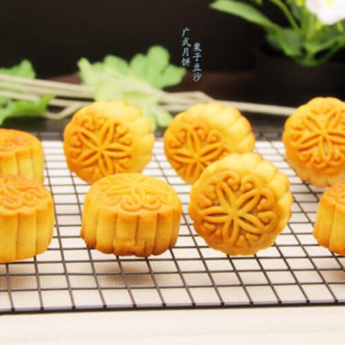 广式栗子豆沙月饼