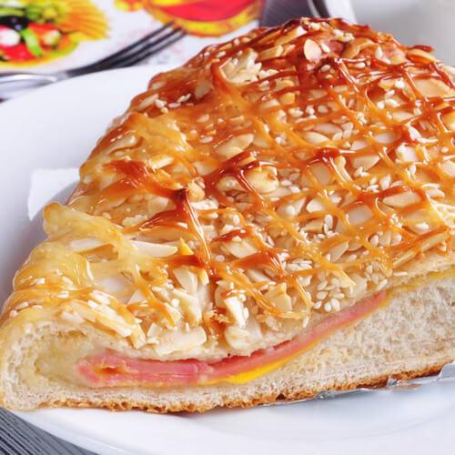 酥脆果仁面包