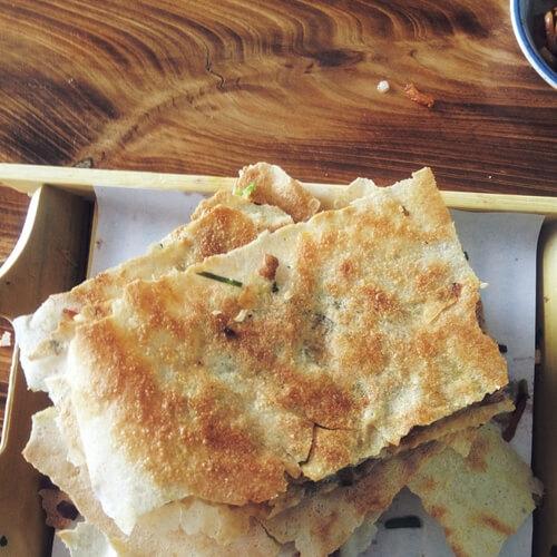 卷心菜煎饼