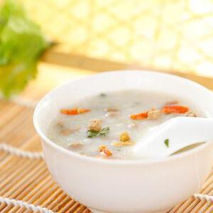 十宝晚餐粥(原创):美容、健康、塑身