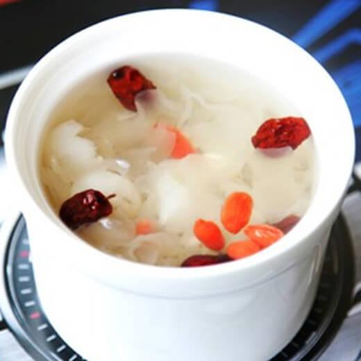 莲子菱角汤