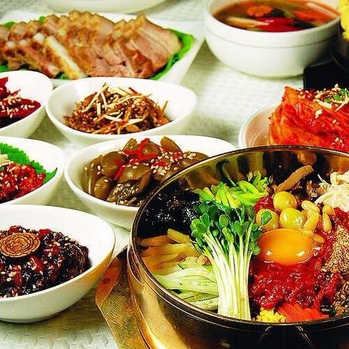 美味的韩国菜