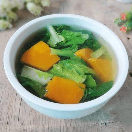 南瓜白菜汤