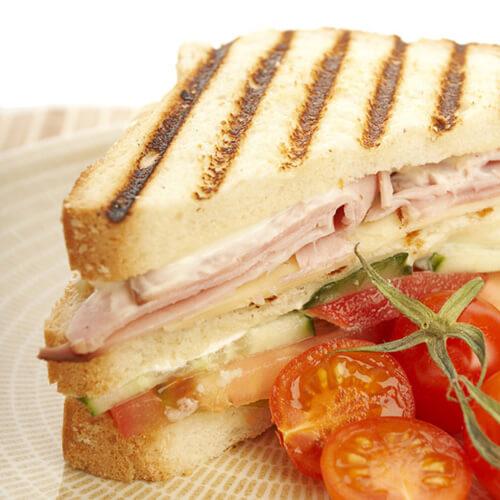 健康快手早餐三明治