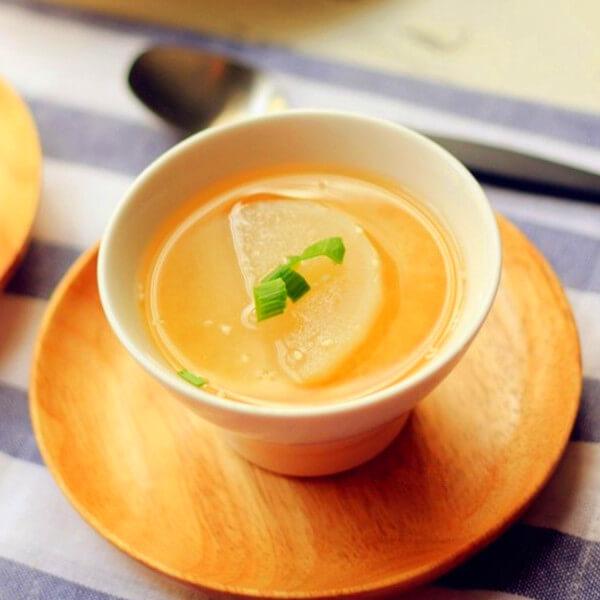 早餐萝卜汤