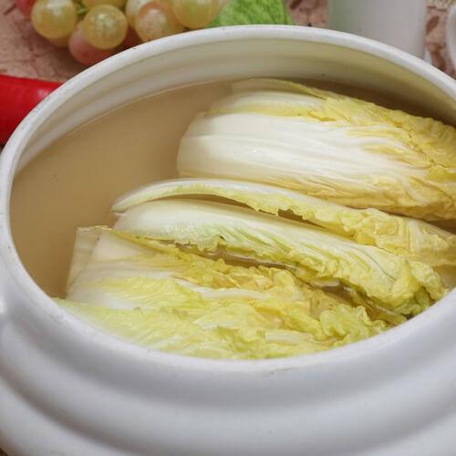 """四川传统名菜。""""开水白菜"""""""