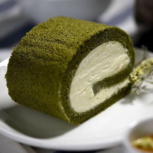 日式咸焦糖抹茶卷