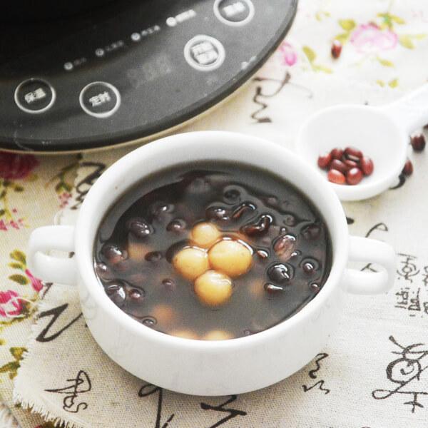 红豆糯米圆子羹