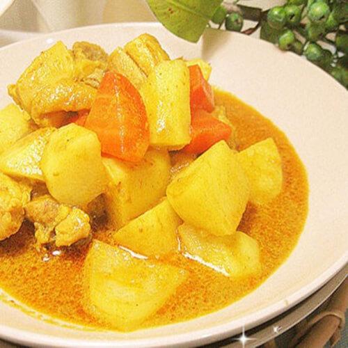 好吃的泰式土豆咖喱鸡