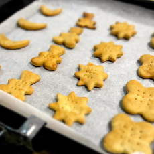 美味巧克力星星饼干
