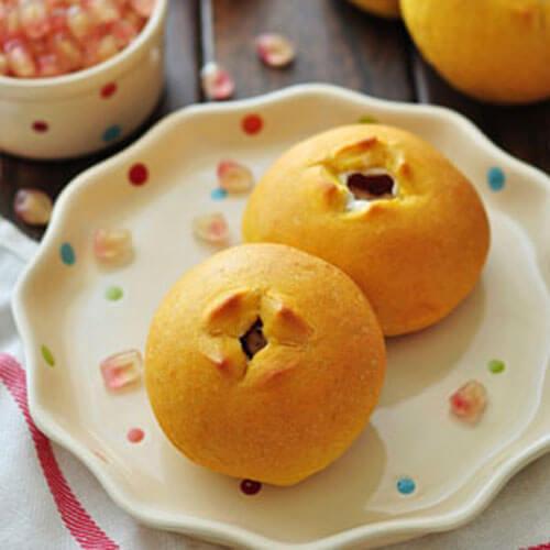 香甜南瓜蔓越莓馒头