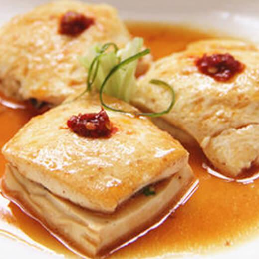 猪肉夹层豆腐