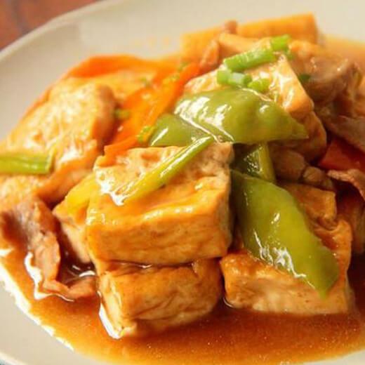 美味素煎嫩豆腐