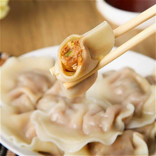 香菇白菜猪肉饺