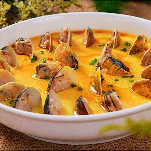 常吃不腻的蛤蜊蒸蛋