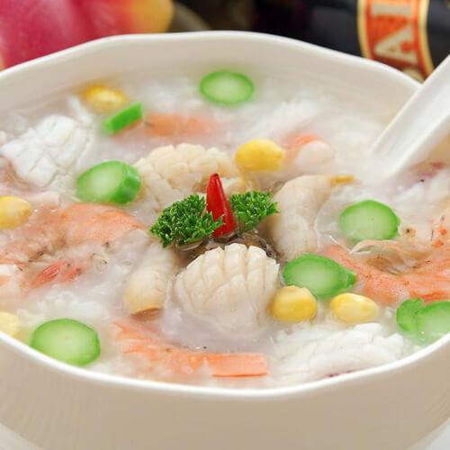 干虾仁白菜粥