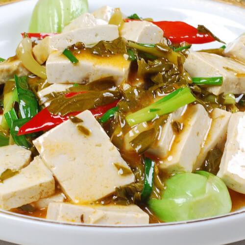 常吃不腻的炒豆腐