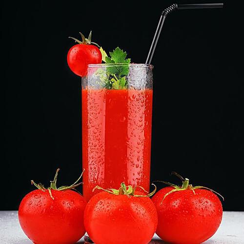 鲜榨蜂蜜牛奶西红柿汁