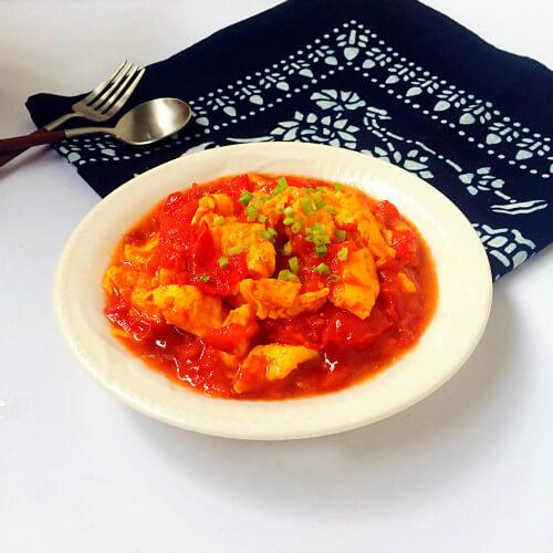 西红柿炒蛋-懒人版