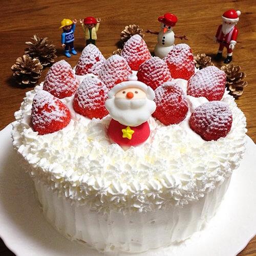 质嫩爽口的圣诞蛋糕