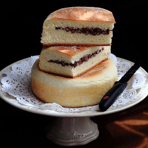 香甜可口一键式软面包