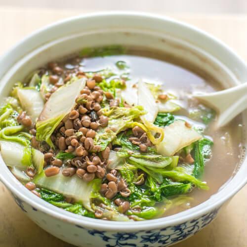 小豆烩白菜
